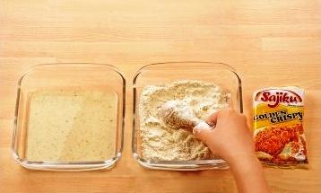Langkah 1 Cara Membuat Ayam Geprek Crispy